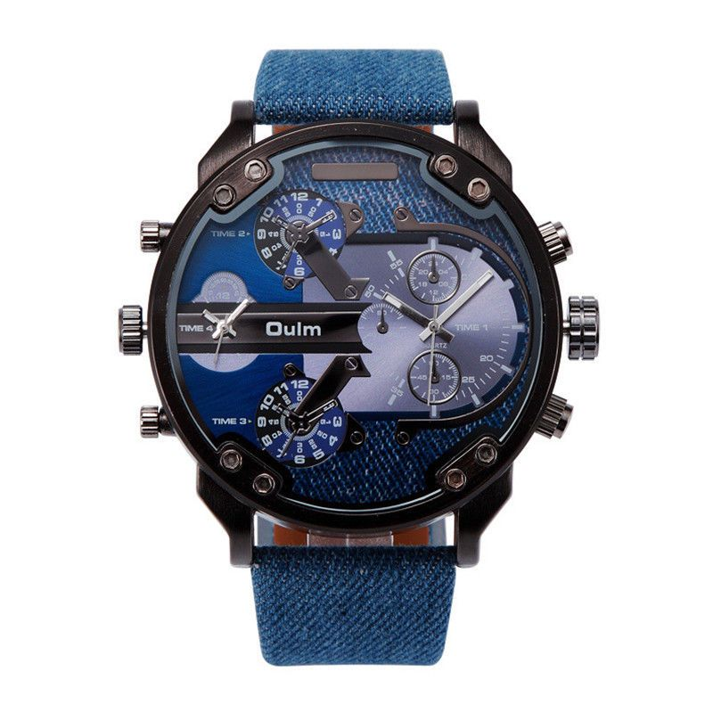 4e7aebe97d6 Popis  Pánské hodinky s obrovským ciferníkem - 56 mm ...