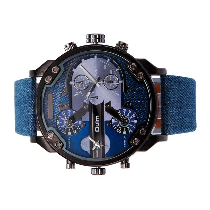 6ac7cc00092 Popis  Pánské hodinky s obrovským ciferníkem - 56 mm